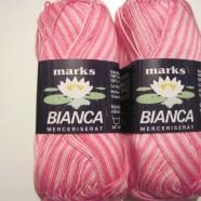 M&K garn Bianca ombre rosa mel.