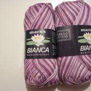 M&K garns Bianca ombre lila mel.