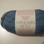 Mandarin Petit ny färg jeans blå
