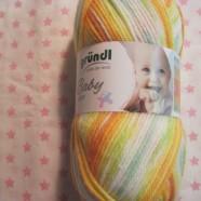 Grundls Baby Color Nr 3 Gul orange mel.